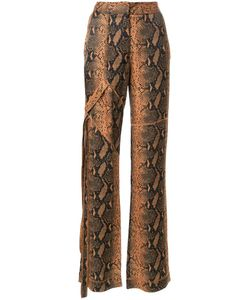 MANNING CARTELL | Snakeskin Print Trousers 10 Viscose