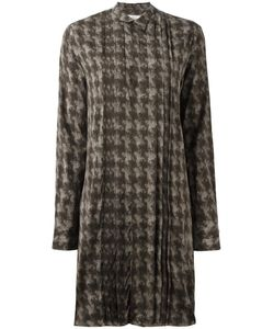 A.F.Vandevorst | Director Shirt Dress 34 Silk/Spandex/Elastane