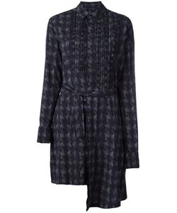 A.F.Vandevorst | Dashboard Shirt Dress 34 Silk/Spandex/Elastane