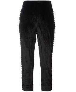 A.F.Vandevorst | Parent Cropped Trousers 34 Cotton/Viscose Fibre