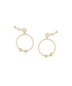 Eshvi | Lava Hoop Earrings