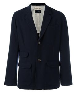 UNIVERSAL WORKS | Two Button Blazer Large Cotton/Acrylic/Polyester/Wool