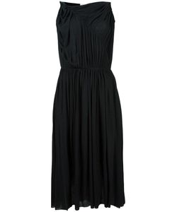 Stefano Mortari | Ruched Detail Dress 40 Spandex/Elastane/Viscose/Wool