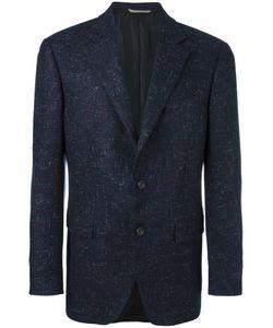 Canali | Tweed Blazer 52 Cupro/Cashmere