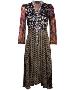 Duro Olowu | Print Shirt Dress 10 Silk/Viscose