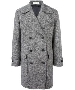 Faith Connexion | Tweed Caban Coat Small Cotton/Polyester/Viscose/Virgin Wool