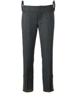 Dsquared2 | Livery Tenent Cropped Trousers 42 Cotton/Virgin Wool