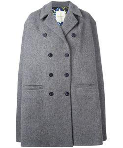 Miahatami | Double-Breasted Oversized Coat 40 Virgin Wool