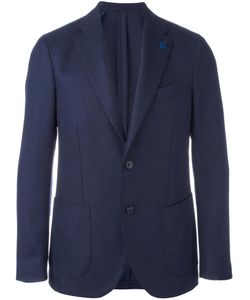 Lardini | Two-Button Blazer 46 Spandex/Elastane/Cupro/Viscose/Wool