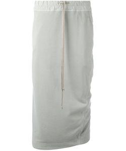 RICK OWENS DRKSHDW | Drawstring Skirt Medium Cotton