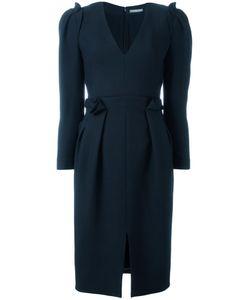 Alexander McQueen | Pleated Dress 40 Silk/Cotton/Wool