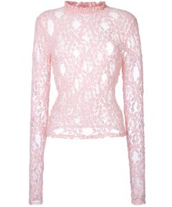 FLEAMADONNA | Lace Blouse Medium Cotton/Nylon/Polyethylene