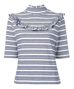 FLEAMADONNA | Striped T-Shirt Medium Cotton