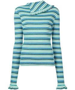 FLEAMADONNA | Striped Longlseeved T-Shirt Medium Cotton