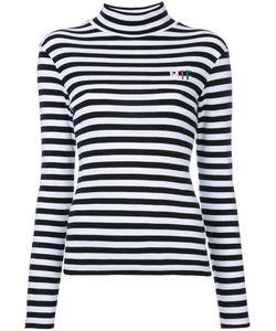 FLEAMADONNA | Striped Longlseeved T-Shirt Medium Cotton