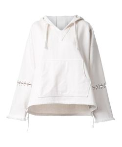 Non Tokyo | Lace-Up Sleeves Hoodie Medium Cotton
