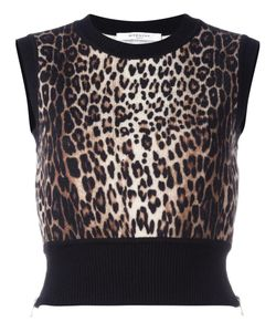 Givenchy | Knitted Cropped Tank Top 40 Wool