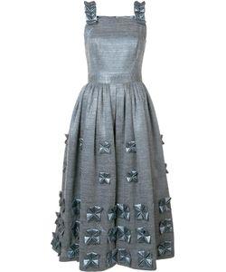 Alena Akhmadullina | Embellished Strap Dress 40 Acrylic/Polyamide/Wool Fibre