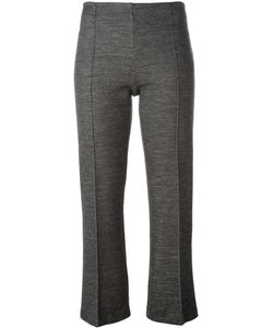 By Malene Birger | Cropped Tailored Trousers Large Cotton/Acrylic/Polyamide/Wool