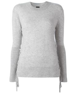 RTA | Lace Up Jumper Xs Cashmere