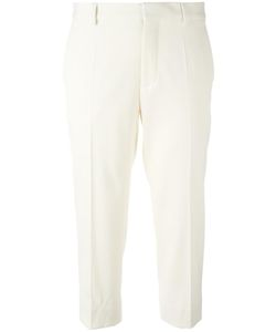 Maison Margiela | Cropped Tailored Trousers 40 Cotton/Polyamide/Spandex/Elastane/Virgin Wool