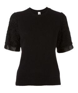 Comme Des Garçons Noir Kei Ninomiya   Textured Sleeve Jumper