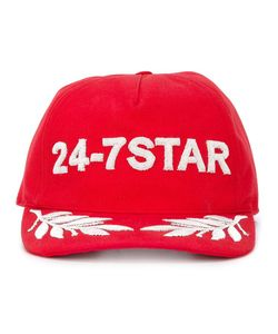 Dsquared2   24-7 Logo Baseball Cap Medium Cotton