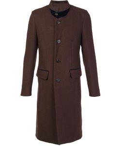 Umit Benan | Notched Lapel Mid Coat 52 Virgin