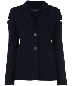 Derek Lam | Cutout Detail Blazer 38 Virgin Wool