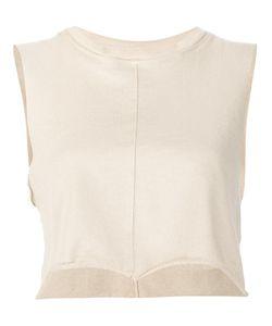 Daniel Patrick | Cropped Vest Medium Cotton