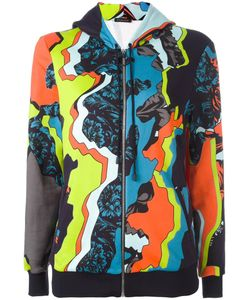 Versace | Jagged Baroque Print Hoodie 40 Silk/Cotton/Viscose