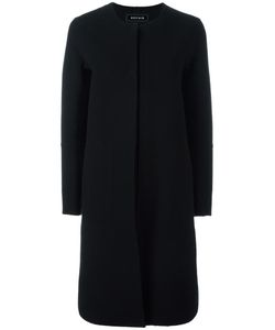 Ahirain | Single Breasted Coat Small Cashmere/Virgin Wool