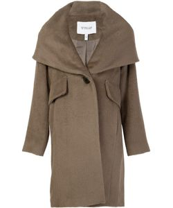Derek Lam 10 Crosby | Hooded Shawl Collar Coat 6