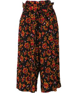 Y'S | Pattern Belted Trousers 1 Cupro/Wool