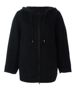 Ahirain | Zip Up Hooded Cardigan Small Polyamide/Angora/Cashmere