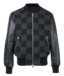 Ami Alexandre Mattiussi | Runway Checked Teddy Jacket Small