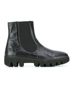 Rocco P. | Chunky Sole Boots 39 Leather/Rubber