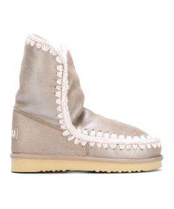 Mou | Eskimo 24 Boots 36 Leather/Sheep Skin/Shearling/Rubber