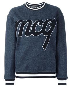 Mcq Alexander Mcqueen | Towelling Logo Sweatshirt Medium Cotton/Viscose