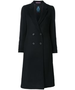 GUILD PRIME | Double-Breasted Mid Coat 34 Wool