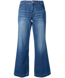 GUILD PRIME | Flared Cropped Jeans 34 Cotton