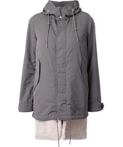 GUILD PRIME | Concealed Fastening Hooded Coat 34 Polyester