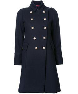 LOVELESS | Flap Pockets Mid Coat 36 Nylon/Lambs Wool