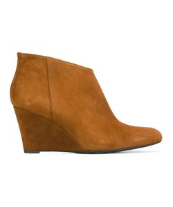 Danielapi | High Ankle Boots 38 Chamois Leather/Leather