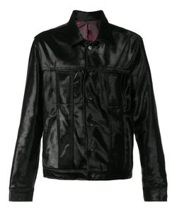 Black Fist | Trash Calfskin Jacket Large Calf Hair