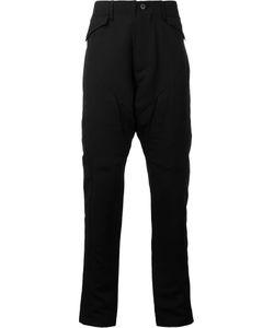 JULIUS   Paneled Peg Leg Pants 3 Cotton/Rayon
