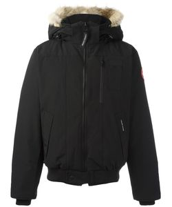 Canada Goose | Removable Hood Bomber Jacket Large Cotton/Feather