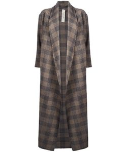 Daniela Pancheri | Glen Plaid Cardi-Coat Small Wool