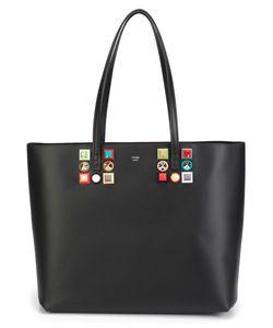 Fendi | Stud Detail Shopper Tote