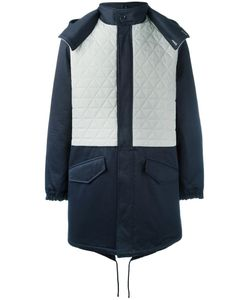 Lc23 | Quilted Panel Parka Coat Small Cotton/Polyamide/Polyester